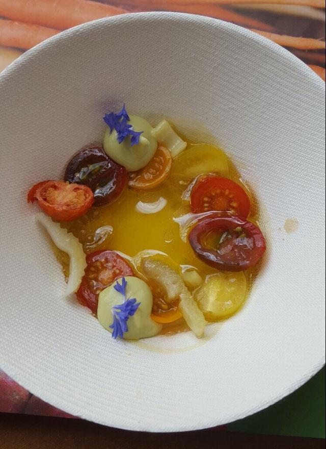 Sopa de tomate Masía el Altet maridaje vino de tomate