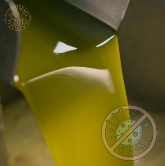 Los efectos del aceite de oliva virgen extra contra el Covid