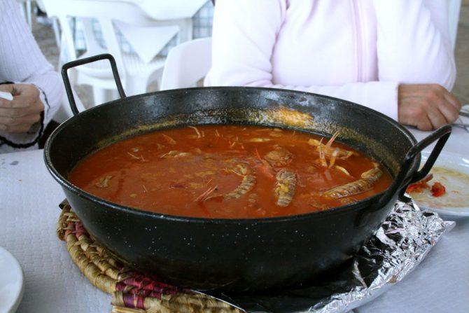 Saborea un espectacular arroz caldoso marinero