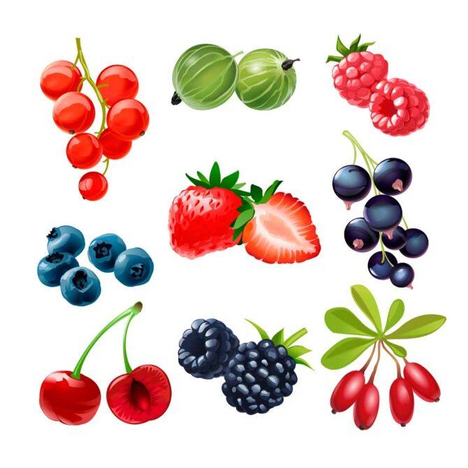 Ensalada de frutas rojas: un cóctel de vitaminas y antioxidantes
