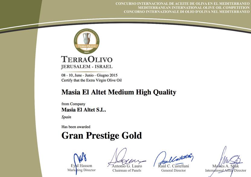 GRAND PRESTIGE GOLD