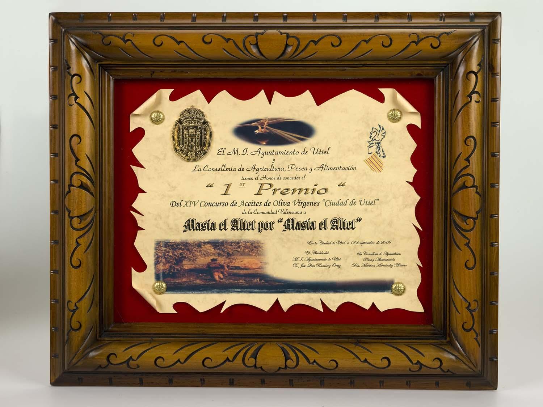 Primer premio Comunidad Valenciana