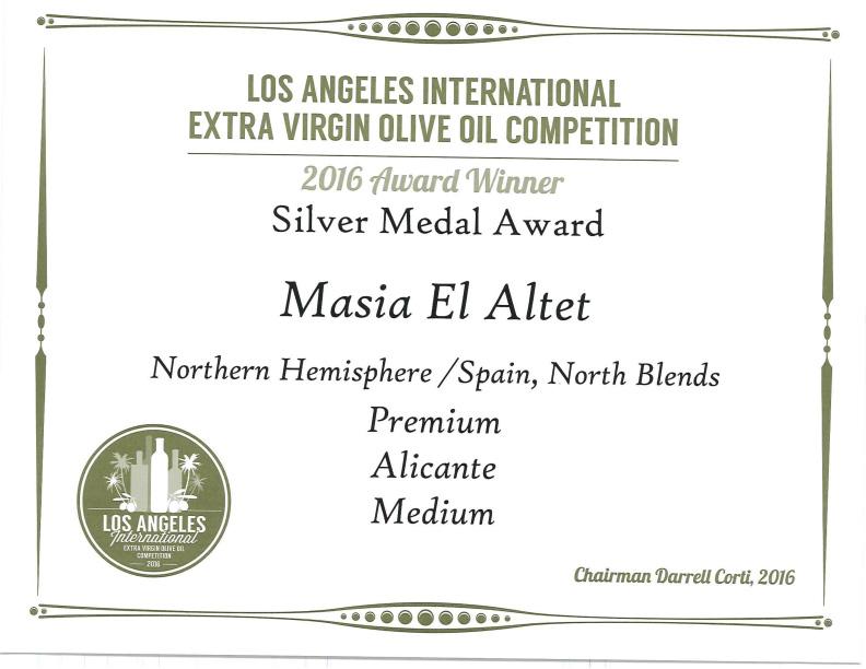 Medalla de Plata Los Angeles