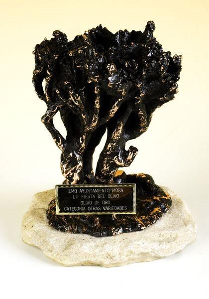 Primer premio, olivo de oro y diploma