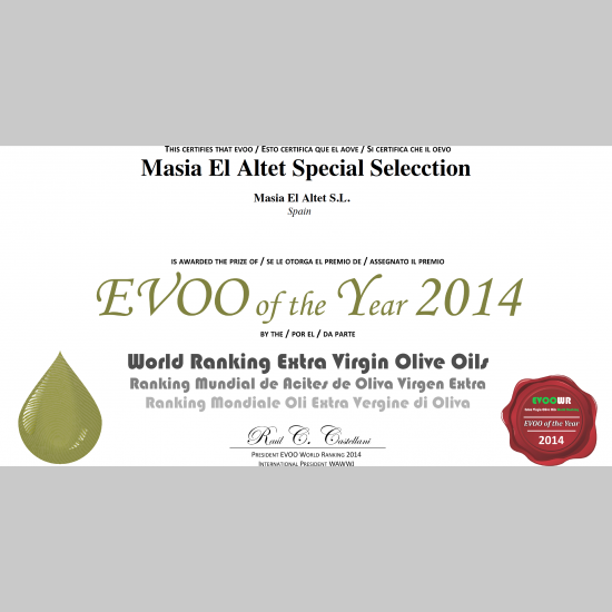 NINTH BEST EVOO
